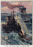 New York Tribune Prints - World War I, The New York Tribune Print by Everett