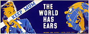 Careless Talk Posters - WORLD WAR II POSTER, c1942 Poster by Granger