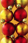 Colorful Decor Framed Prints - Xmas Balls Framed Print by Carlos Caetano