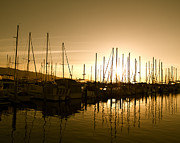 Elite Photos - Yacht Sailboats in a Harbor Marina with a Reflection on the Wate by ELITE IMAGE photography By Chad McDermott