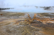 Natural Pool Photos - Yellowstone Thermal Pool by Charline Xia