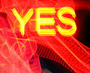Iphonesia Posters - Yes Poster by Mickey Hatt