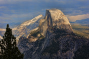 Yosemite National Park Framed Prints - Yosemite Half Dome Framed Print by Chuck Kuhn