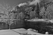 Landscape Photo Posters - Yosemite Valley at Christmas Poster by Kris Docken