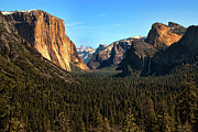 Mariposa County Prints - Yosemite Valley Print by Jeffrey Campbell