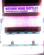 Photography Of Wine Bottles Posters - You Dont Say Poster by Cyryn Fyrcyd