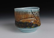 Porcelain. Wildlife Ceramics - Yunomi by Mark Chuck