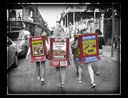 Boxes Photographs Framed Prints - Zatarains Mardi Gras Framed Print by Jeanne  Woods
