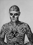 Carlos Velasquez Art - Zombie Boy Rick Gene...