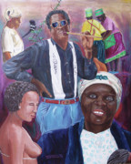 Aids Paintings - Zulu Blues by Kevin Callahan