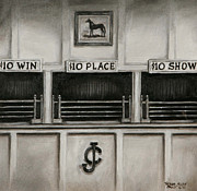 Horseracing Prints - 10 Across the Board Print by Thomas Allen Pauly