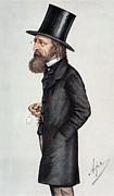 Alfred Tennyson (1809-1892) Print by Granger