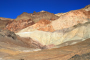 Scenic Drive Prints - Artist Palette Death Valley National park Print by Pierre Leclerc
