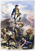 Prescott Framed Prints - Battle Of Bunker Hill, 1775 Framed Print by Granger