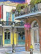 New Orleans Food Drawings - 10  Carre Vieux by John Boles