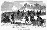 Civil War: Black Troops Print by Granger