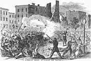 Draft Posters - Civil War: Draft Riots Poster by Granger