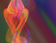 Hathor Digital Art - Dancing Light Variations by Laurel Smith
