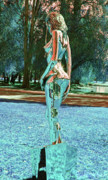 Nudes Sculpture Posters - Evolution of Eve IV Poster by Greg Coffelt