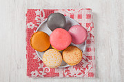 Cookie Prints - French Macarons Print by Sabino Parente