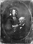 Harriet Beecher Stowe Print by Granger
