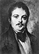 1833 Prints - HONORE de BALZAC (1799-1850) Print by Granger