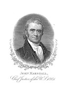 Chief Justice Art - John Marshall (1755-1835) by Granger
