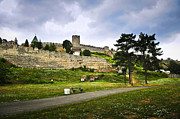 Defense Prints - Kalemegdan fortress in Belgrade Print by Elena Elisseeva