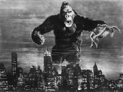 American City Scene Framed Prints - King Kong, 1933 Framed Print by Granger