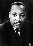 African-american Framed Prints - MARTIN LUTHER KING, Jr Framed Print by Granger