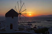 Panoramic Framed Prints - Mykonos Framed Print by Joana Kruse