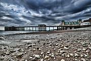 Steve Purnell Photo Metal Prints - Penarth Pier Metal Print by Steve Purnell