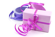 Wrap Prints - Pink gift Print by Blink Images