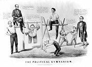 Weightlifter Prints - Presidential Campaign, 1860 Print by Granger