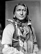 Neckerchief Framed Prints - SIOUX NATIVE AMERICAN, c1900 Framed Print by Granger