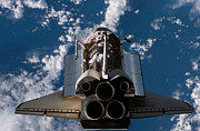 Atlantis Prints - Space Shuttle Atlantis Print by Stocktrek Images