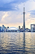 Architecture Photography - Toronto skyline by Elena Elisseeva