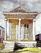 New Orleans Pastels Prints - 100 Print by John Boles