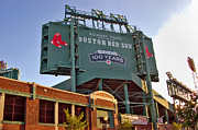 Red Sox Baseball Posters - 100 Years at Fenway Poster by Joann Vitali