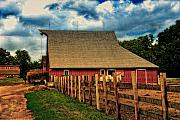 Barn Digital Art - 100 Years by Lyle  Huisken