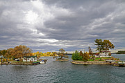 Kingston Prints - 1000 Islands Cottages Print by Charline Xia