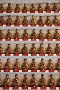 Religious Icons Prints - 10,000 Buddhas Monastery Print by Axiom Photographic