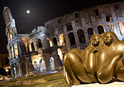 Macjac Prints - 100100 Colosseum Print by MacJac