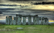 Stonehenge Digital Art Prints - 100143 Stonehenge Print by MacJac