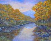 Oils Originals - 100718 1216 Tranquil Waters by Donna Heikes