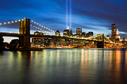 Macjac Prints - 10074 Brooklyn Bridge Print by MacJac