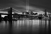 Macjac Prints - 10075 Brooklyn Bridge Print by MacJac