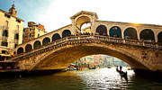 Macjac Prints - 10085 Venice - Rialto Bridge Print by MacJac