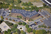 Commercial Real Estate Aerial Photographs - 101 Lindenwood Drive Malvern PA 19355 by Duncan Pearson