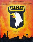 101st Airborne Division Framed Prints - 101st Airborne - OIF III Framed Print by Unknown